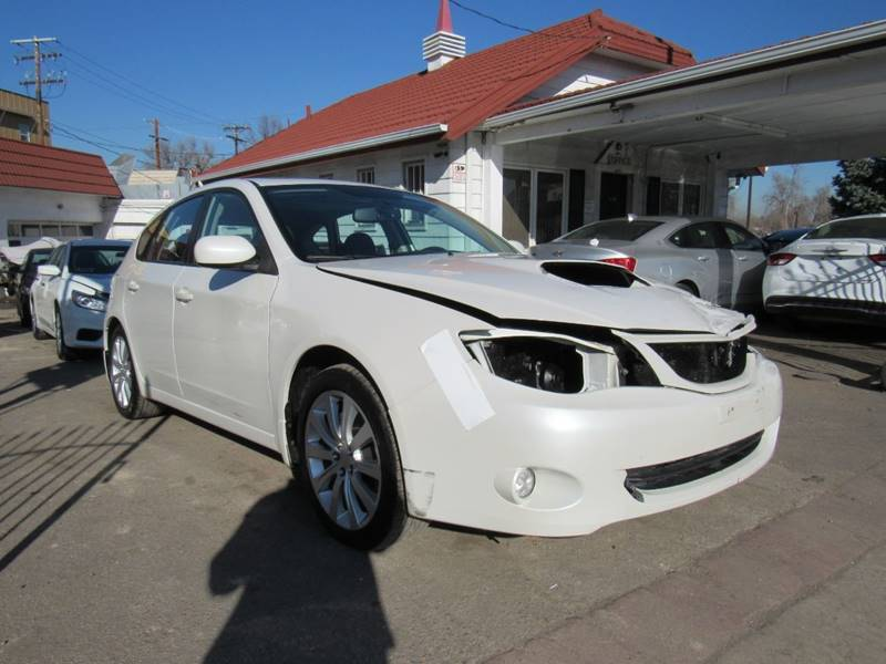 front hit 2010 Subaru Impreza 2.5gt Premium repairable