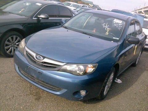 light hit 2011 Subaru Impreza 2.5i Premium AWD repairable for sale