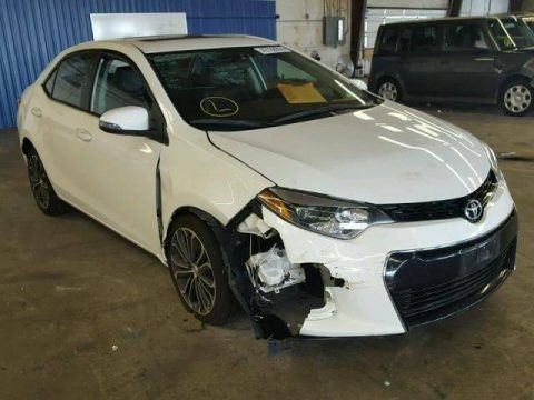 low mileage 2014 Toyota Corolla L repairable for sale