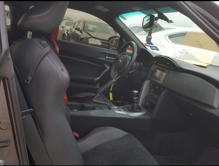low miles 2015 Subaru BRZ Limited repairable