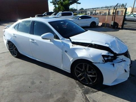 low miles 2016 Lexus Is200t Repairable for sale