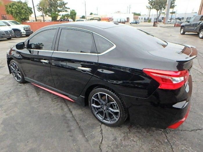 very low miles 2018 Nissan Sentra Nismo SR repairable