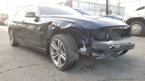 very low miles 2019 BMW 4 Series GRAN Coupe X DRIVE repairable for sale