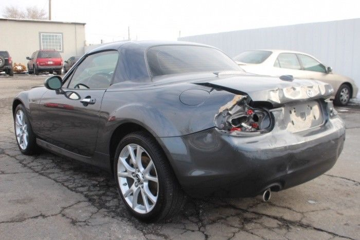 well equipped 2014 Mazda MX 5 Miata Grand Touring repairable
