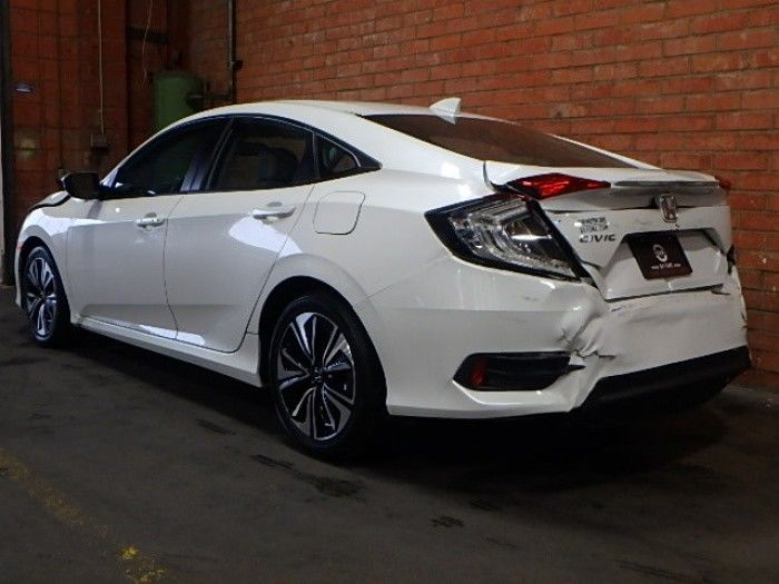 well equipped 2017 Honda Civic EX L repairable