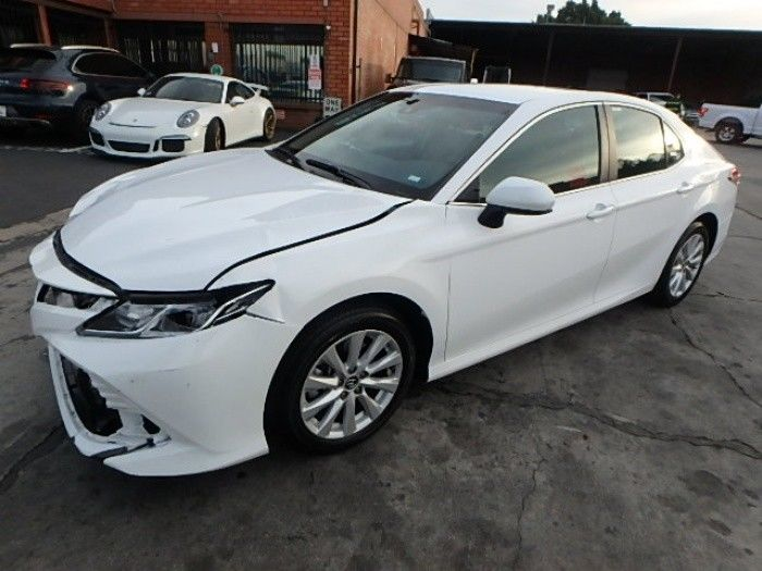 well equipped 2018 Toyota Camry LE repairable