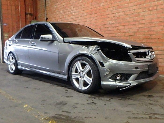 comfortable 2010 Mercedes Benz C Class C 300 repairable