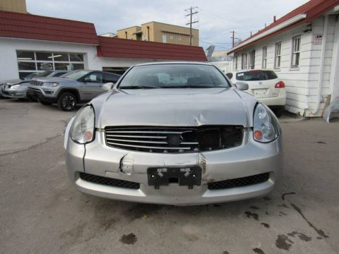 easy fix 2003 Infiniti G35 Base Coupe repairable for sale