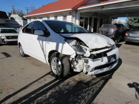 front damage 2009 Toyota Prius Base 4dr Hatchback for sale