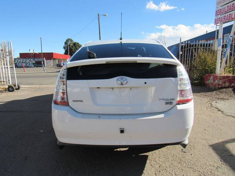 front damage 2009 Toyota Prius Base 4dr Hatchback