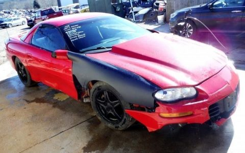 light damage 1998 Chevrolet Camaro Coupe repairable for sale