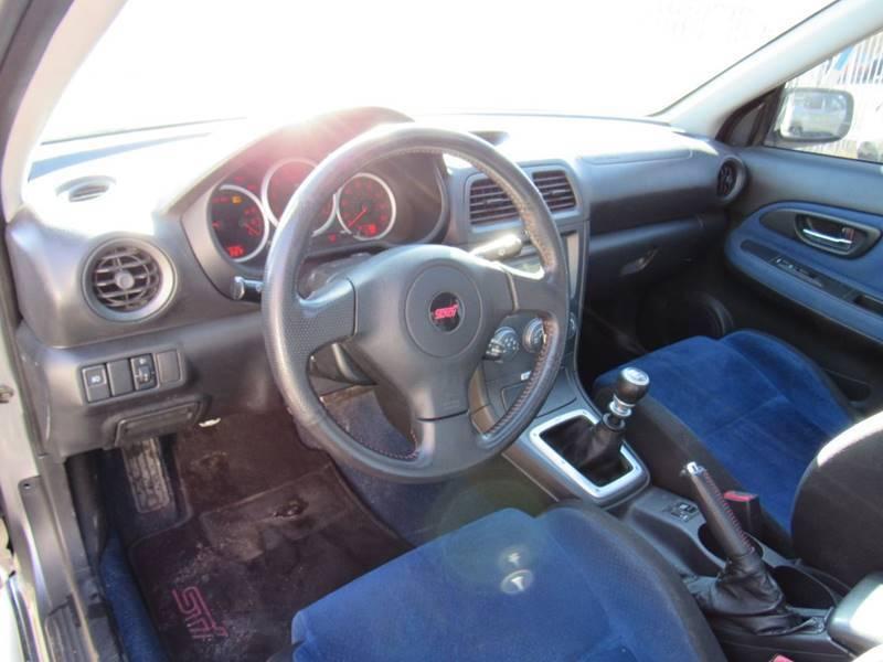 loaded 2007 Subaru Impreza WRX STI Limited repirable