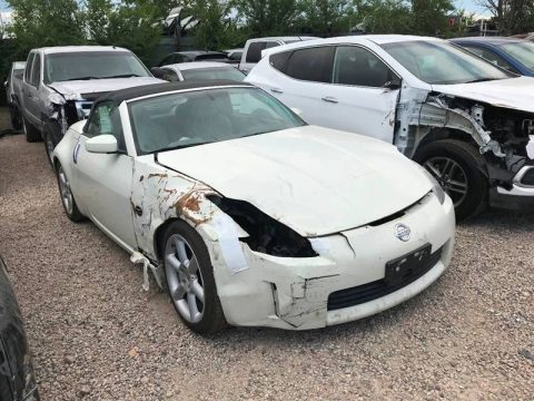 low mileage 2005 Nissan 350Z Touring repairable for sale