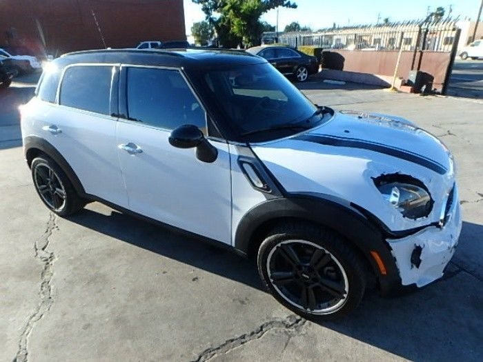 low miles 2015 Mini Countryman S repairable