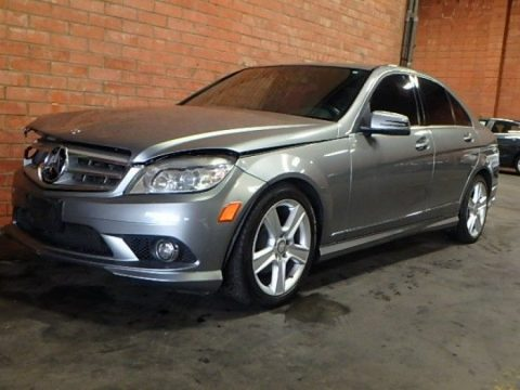 luxurious 2010 Mercedes Benz C 300 Repairable for sale