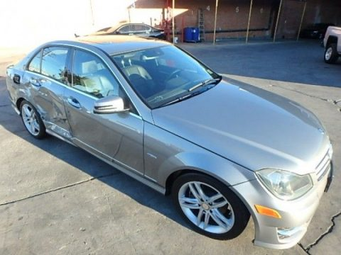 luxurious 2012 Mercedes Benz C Class C250 Repairable for sale