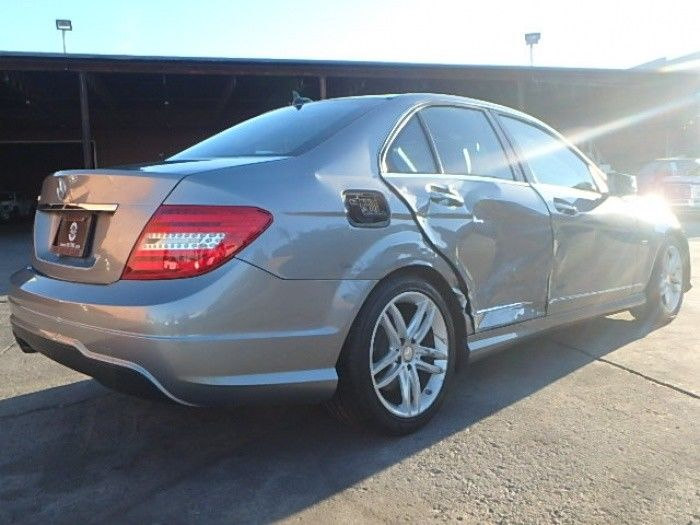 luxurious 2012 Mercedes Benz C Class C250 Repairable