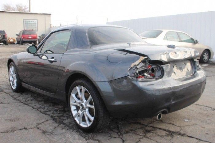 sporty 2014 Mazda MX 5 Miata Grand Touring Repairable