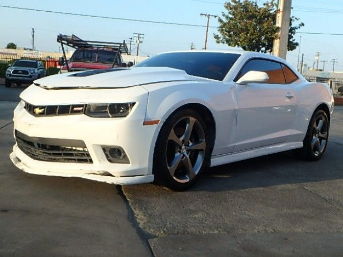 strong and fast 2014 Chevrolet Camaro SS Repairable