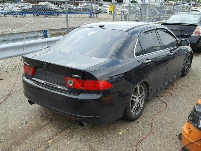 well equipped 2007 Acura TSX Base Sedan repairable