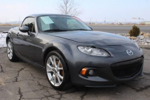 well equipped 2014 Mazda MX 5 Miata Grand Touring repairable for sale