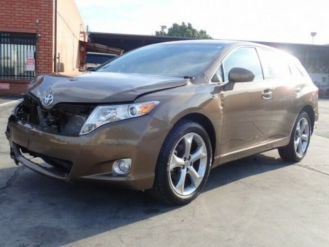 2012 Toyota Venza LE/XLE/Limited repairable for sale