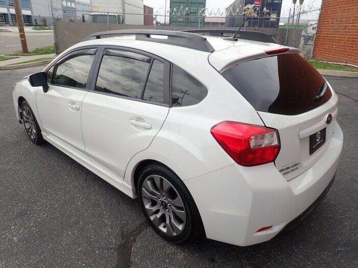 hail damage 2015 Subaru Impreza 2.0i Sport Limited awd repairable