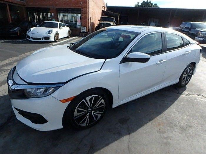 loaded with goodies 2017 Honda Civic EX L Repairable