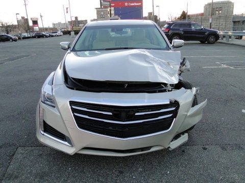 low miles 2016 Cadillac CTS 2.0L Turbo Luxury repairable for sale