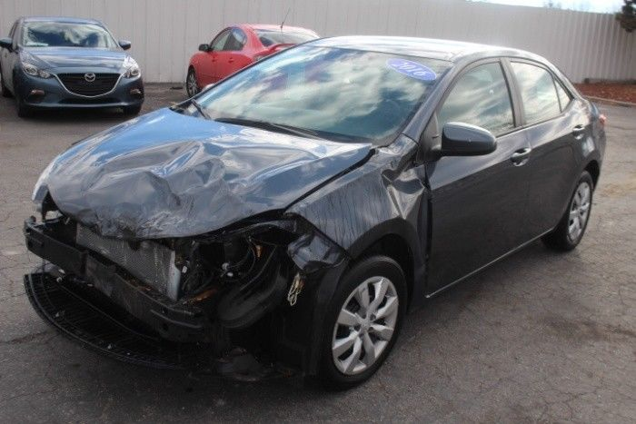 low miles 2016 Toyota Corolla LE repairable