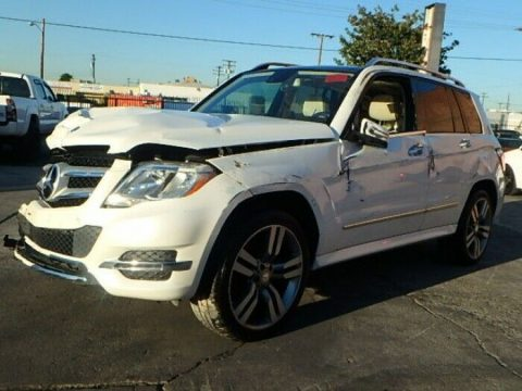 luxurious 2014 Mercedes Benz GLK 350 repairable for sale