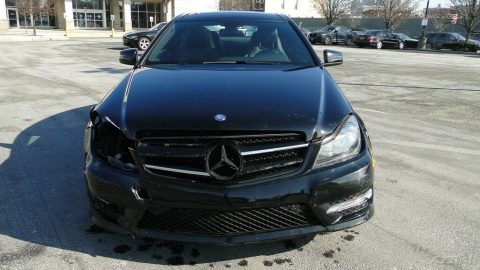 luxurious 2015 Mercedes Benz C Class C 250 repairable for sale