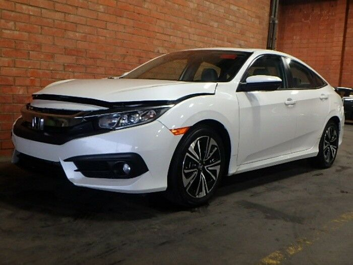 nicely equipped 2017 Honda Civic EX L Sedan Repairable