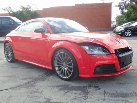 well equipped 2014 Audi TTS 2.0T repairable for sale