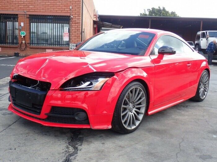 well equipped 2014 Audi TTS 2.0T repairable