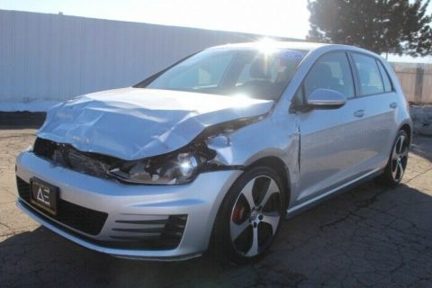 well equipped 2016 Volkswagen Golf S repairable for sale