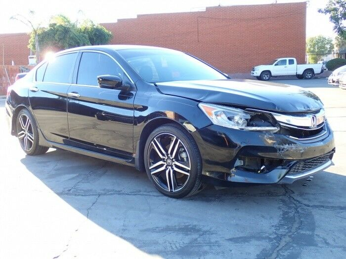 well equipped 2017 Honda Accord repairable