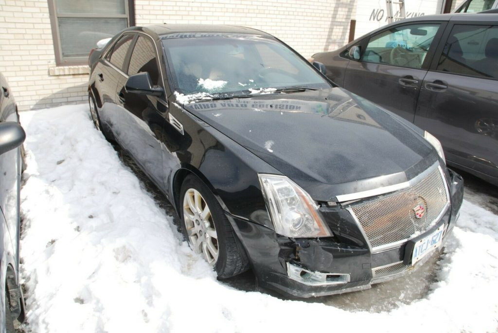 easy fix 2009 Cadillac CTS repairable