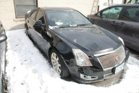 easy fix 2009 Cadillac CTS repairable for sale