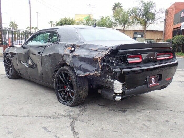 very low miles 2018 Dodge Challenger T/A 392 repairable