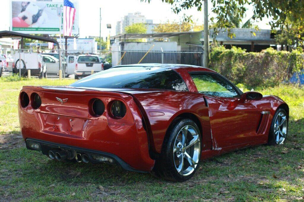 well optioned 2012 Chevrolet Corvette Grand Sport repairable