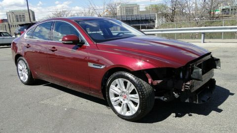 barely used 2017 Jaguar XF 35t 3.0L V6 Supercharger Repairable for sale