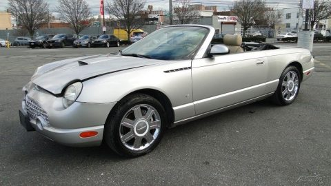 easy fix 2004 Ford Thunderbird Convertible repairable for sale