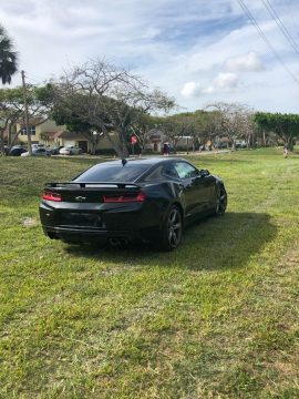 front damage 2016 Chevrolet Camaro SS repairable for sale