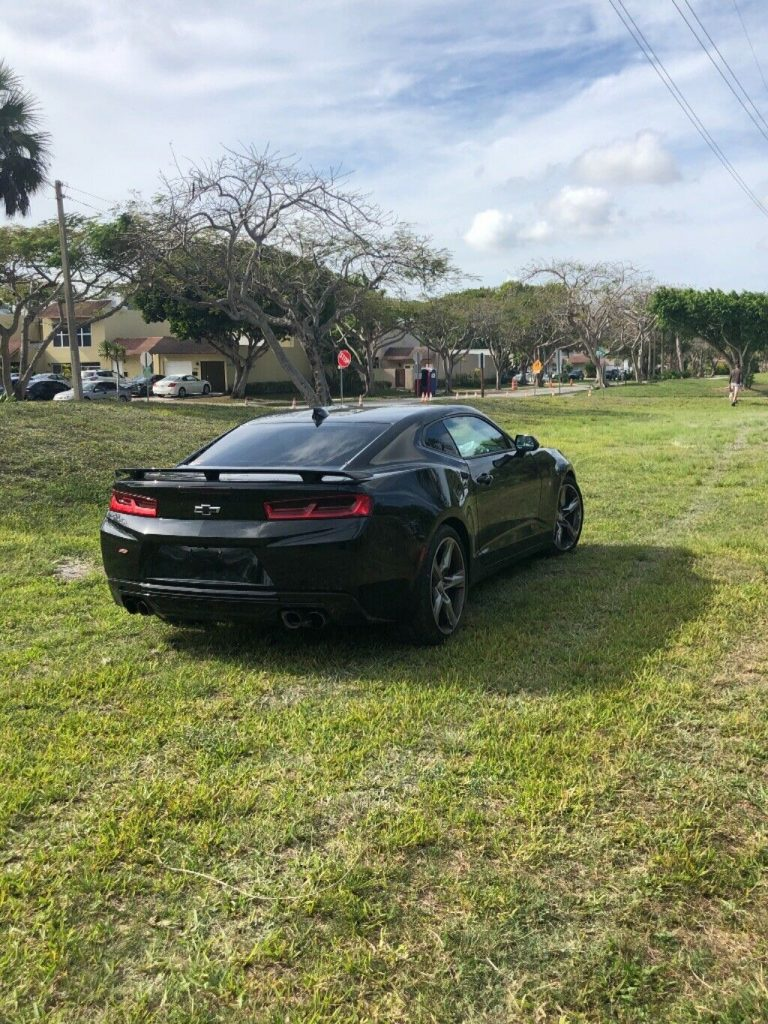front damage 2016 Chevrolet Camaro SS repairable