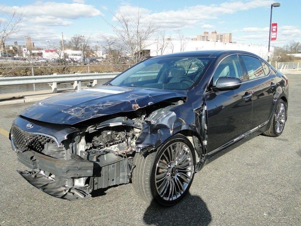 low miles 2015 Kia Cadenza Premium 3.3L V6 repairable