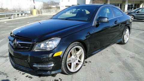low miles 2015 Mercedes Benz C Class C 250 repairable for sale