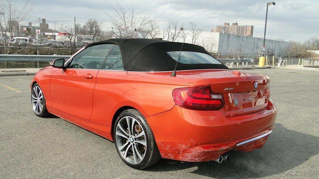 low miles 2016 BMW 2 Series 228i Xdrive Convertible repairable