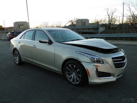low miles 2016 Cadillac CTS repairable for sale