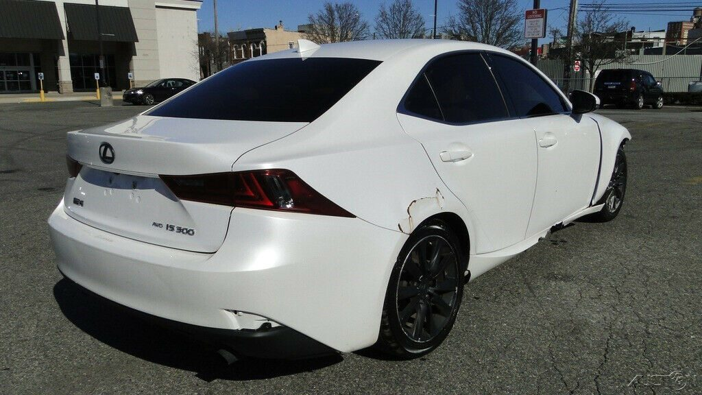 low miles 2016 Lexus IS AWD 3.5L V6 repairable